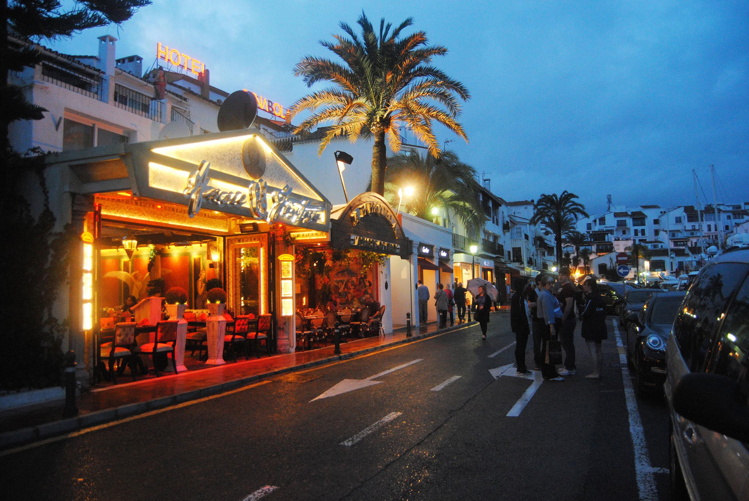 Puerto ban s the golden mile iberian properties - Puerto banus marbella ...