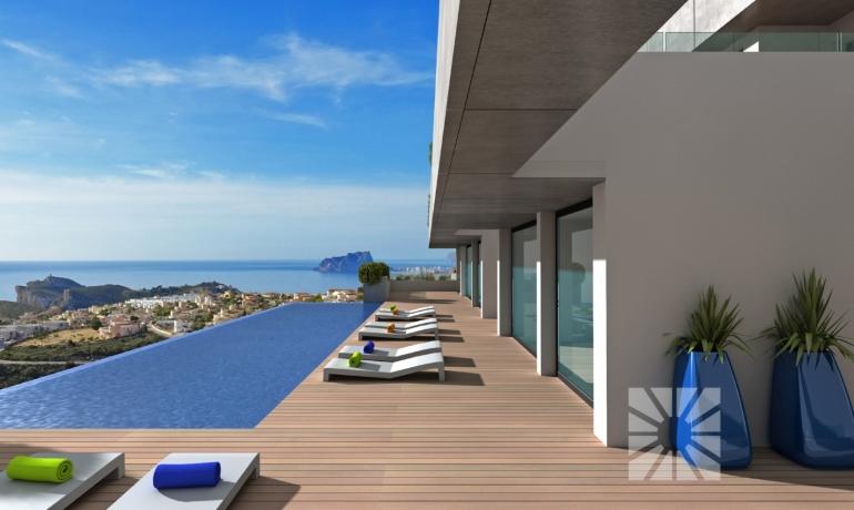 30 sea view luxury flats