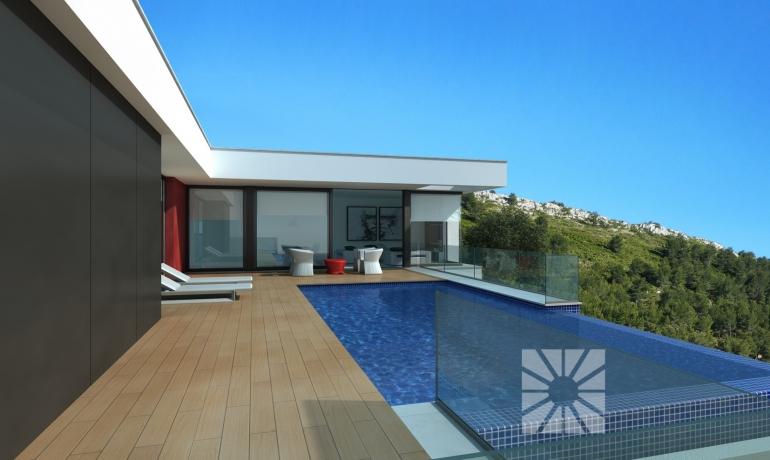 Brand New villas under construction in Cumbre del Sol, Benitachell – Costa Blanca