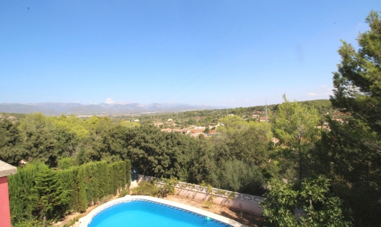 Marvelous villa in Palma de Mallorca with stunning views