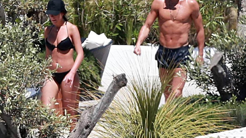 Cristiano Ronaldo & stunning girlfriend Georgina Rodriguez enjoy IBIZA